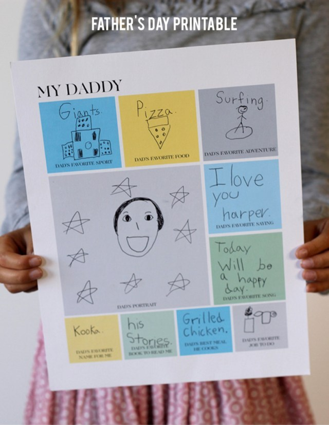 father's day printable 2