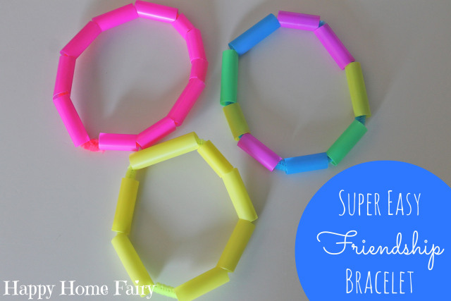Super Easy Friendship Bracelets Happy Home Fairy