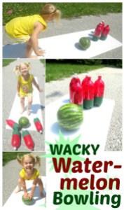 watermelon bowling