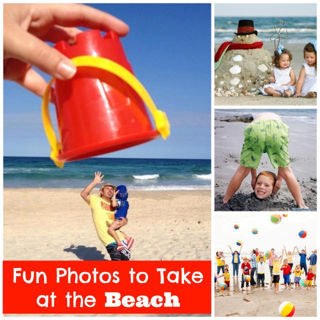 5 Fun Photos To Take At The Beach