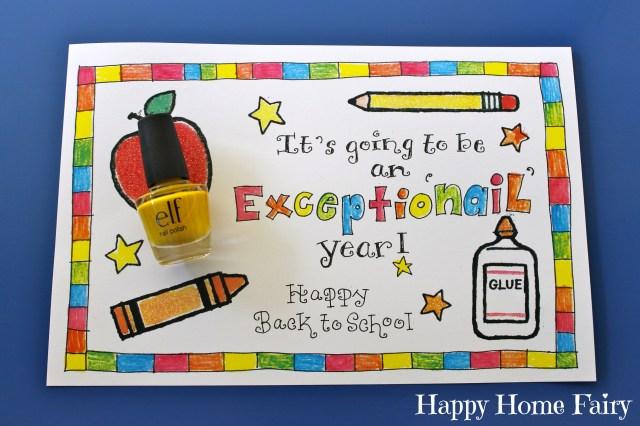 easy back to school gift for the teacher