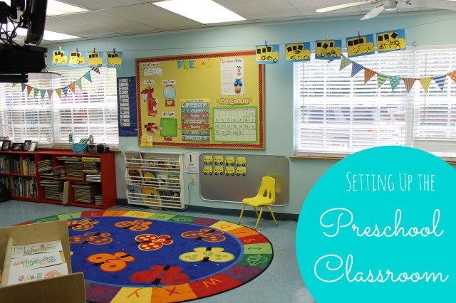 Classroom Ideas For Nursery : Preschool classroom reveal happy home fairy