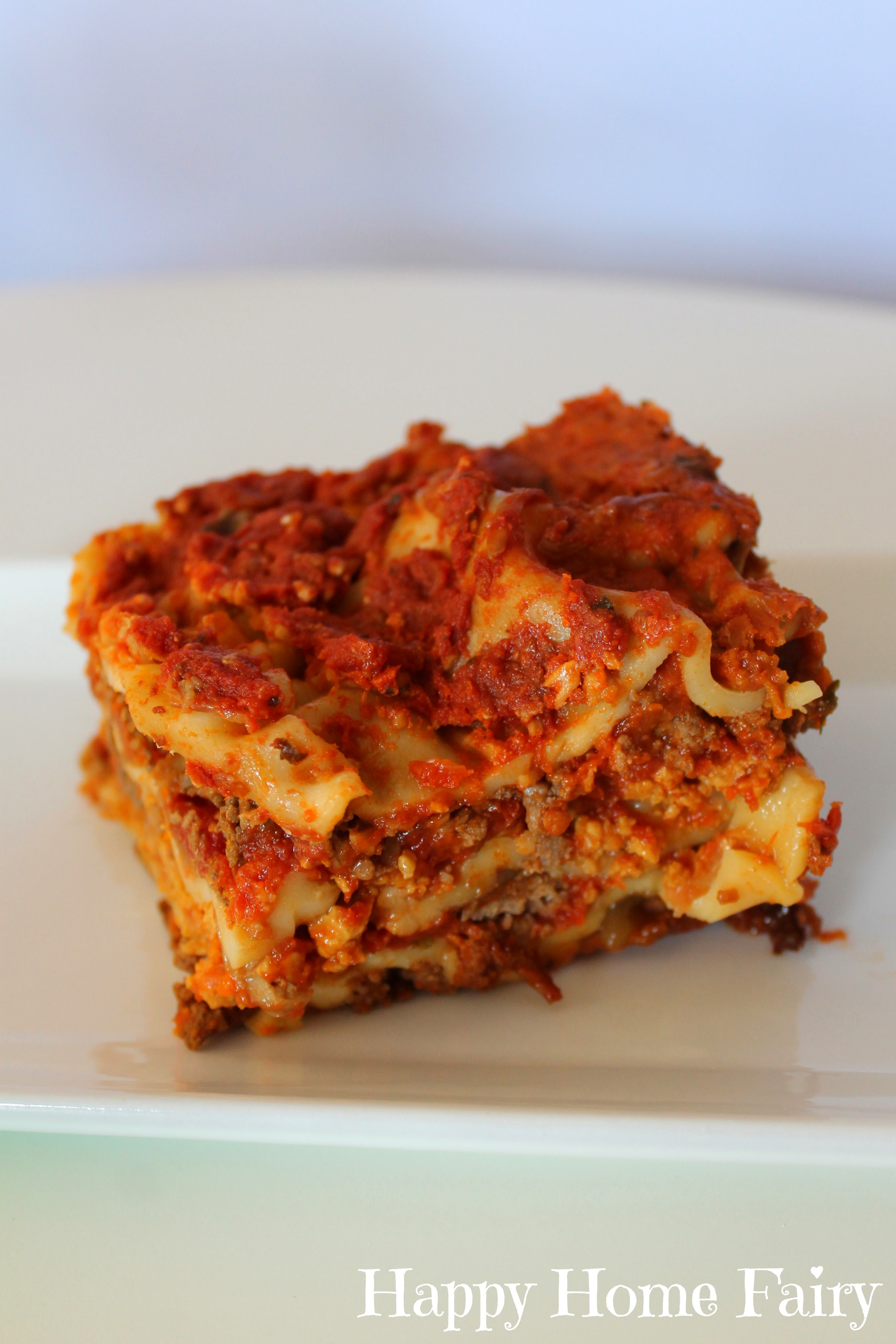 Recipe Super Easy Crockpot Lasagna Happy Home Fairy