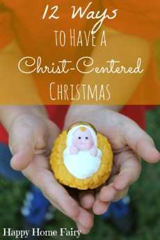 12 Ways to Have a Christ-Centered Christmas
