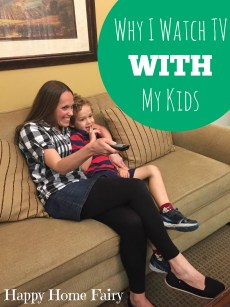 Why I Watch TV With My Kids and a GIVEAWAY!!