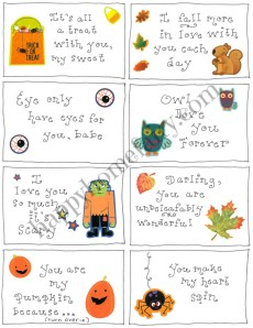 A Happy Halloween for the Happy Hubby – FREE Printable!