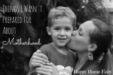 Things I Wasn't Prepared for About Motherhood