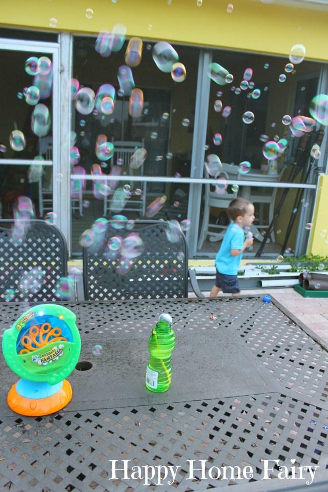 bubble machine 10