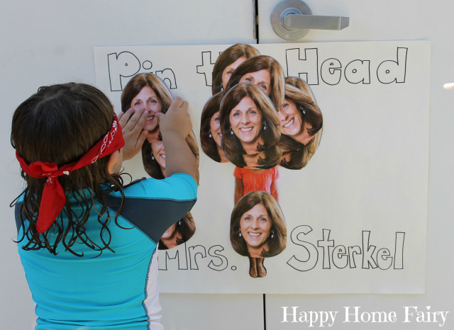 pin the head on the teacher 3