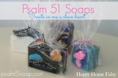 Psalm 51 Soap Review and a GIVEAWAY!