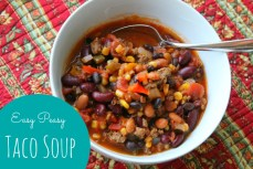 Recipe – Easy Taco Soup