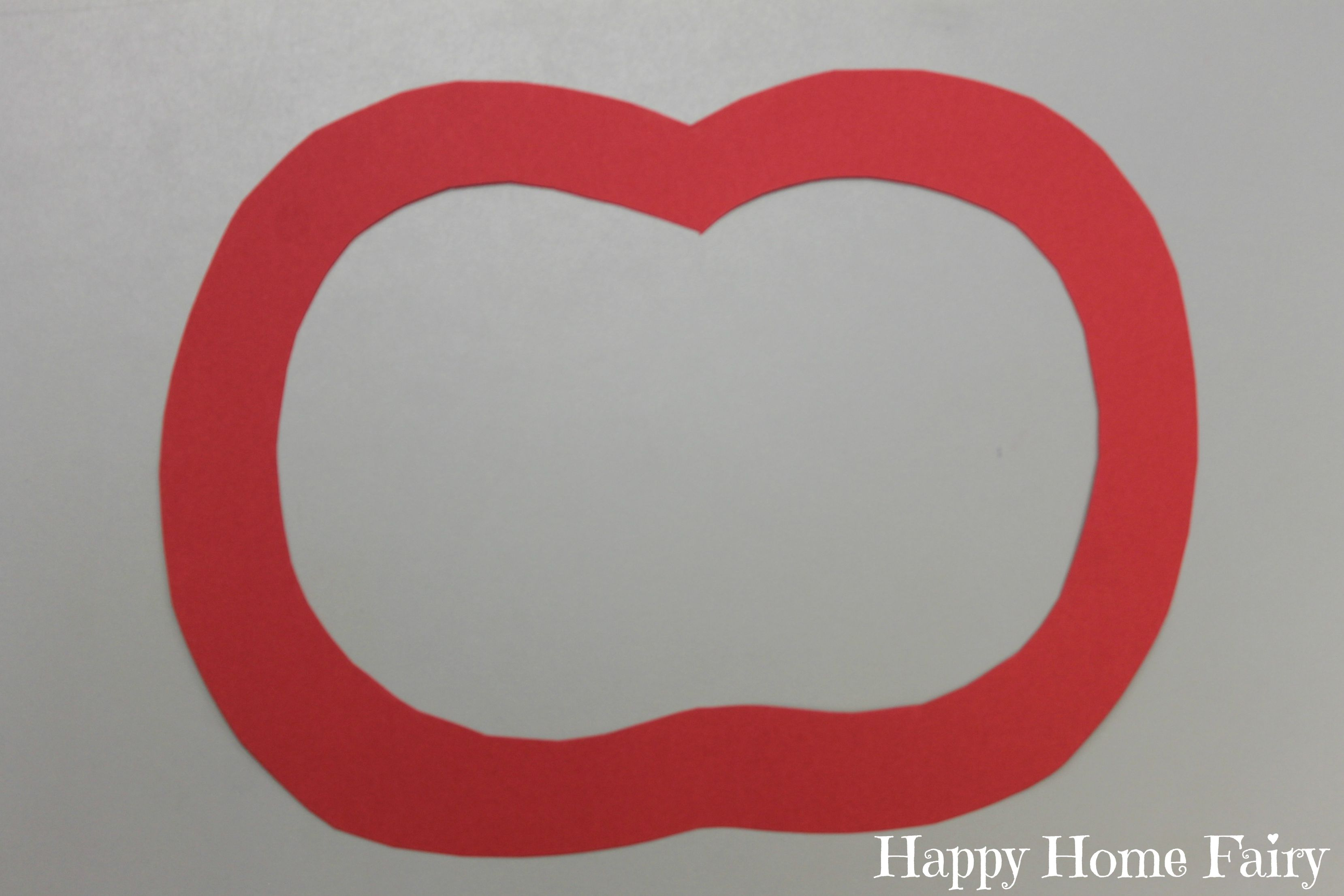 Apple Stained Glass Window Craft 2