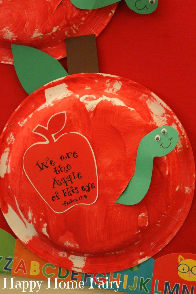 September Apple Craft - Happy Home Fairy