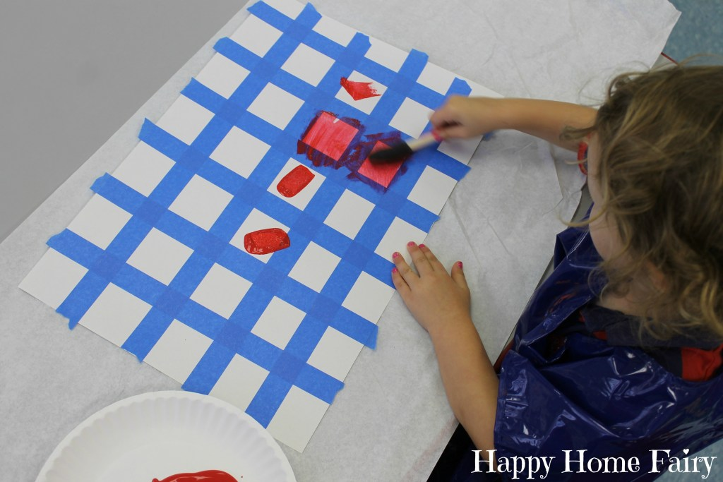 preschool teaching shapes - squares 5
