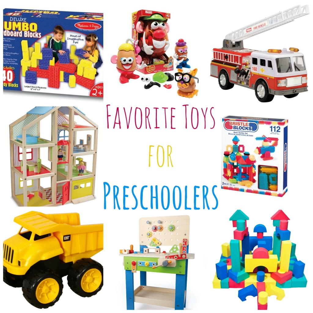 Favorite Toys for Preschoolers - Great ideas for Christmas gifts!