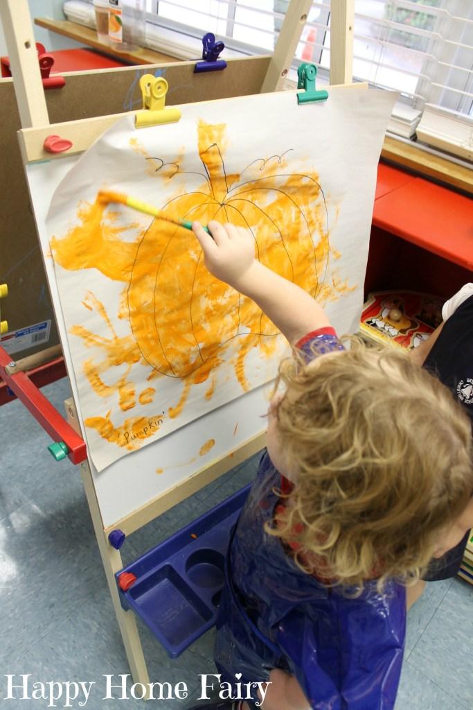 teaching colors - ORANGE 10