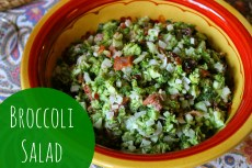 Recipe – Broccoli Salad