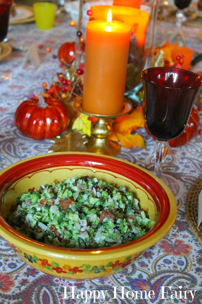 Broccoli Salad - perfect for holiday parties!