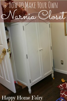How to Make A Narnia Closet