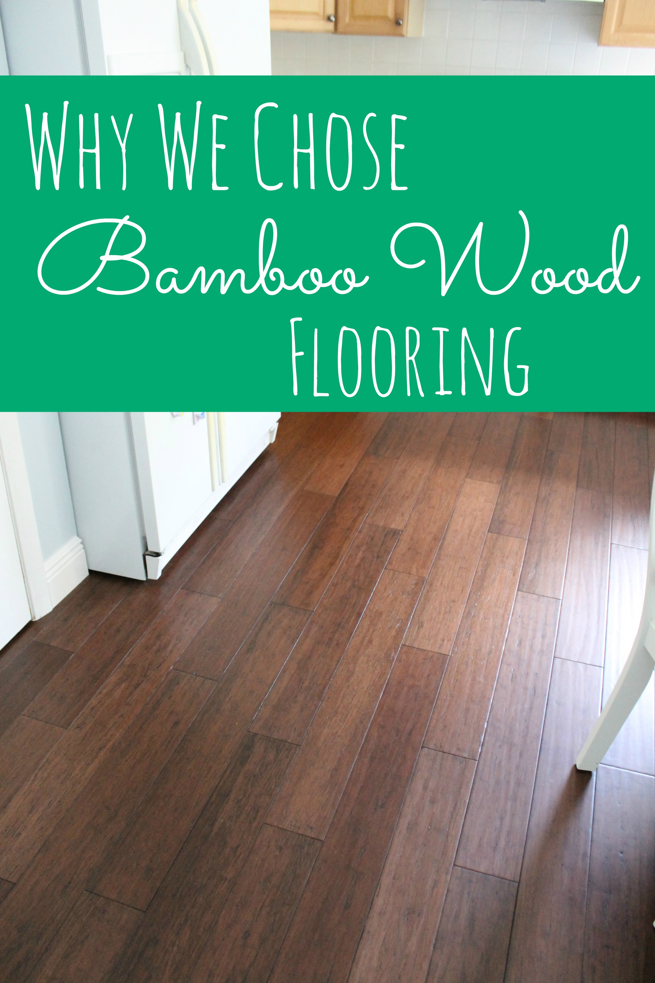 Why We Chose Bamboo Flooring Before And After Photos Happy Home - How expensive is bamboo flooring