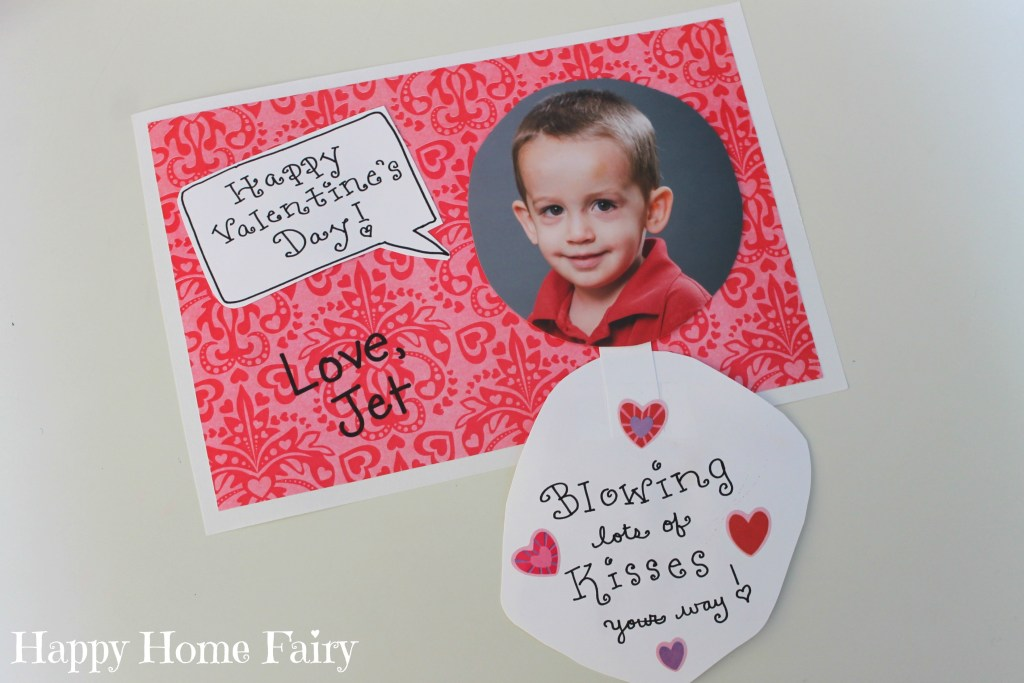 cute little valentine's day card for the grandparents!