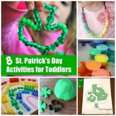 8 Simple St. Patrick's Day Activities for Toddlers