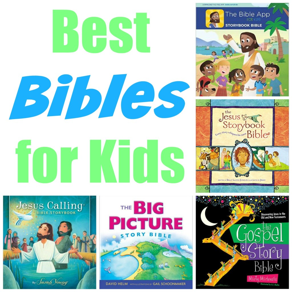 BEST BIBLE FOR KIDS! AGES 0-10