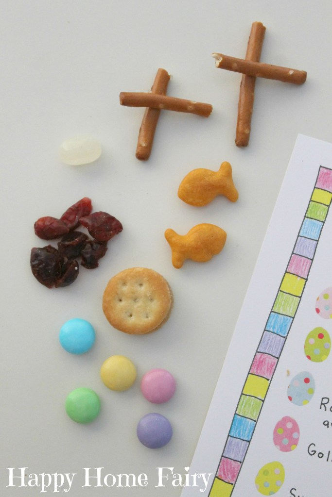 Easter story snack mix2