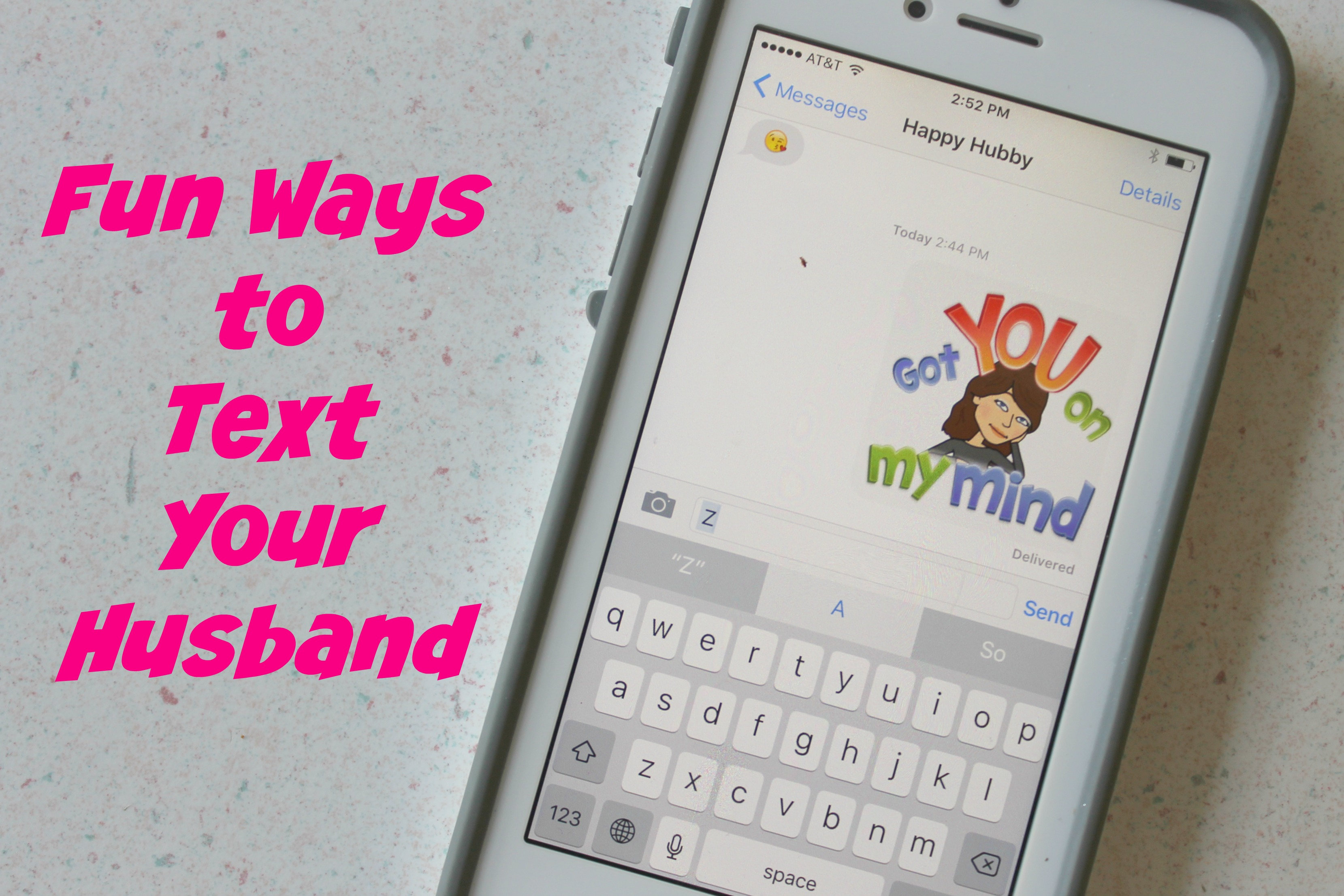 Fun Ways to Text Your Husband - Happy Home Fairy