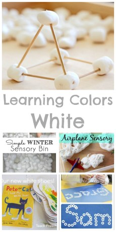 Teaching Colors – White