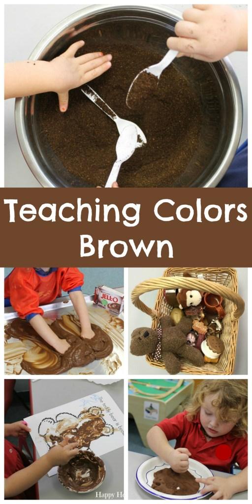 Teaching Colors Brown
