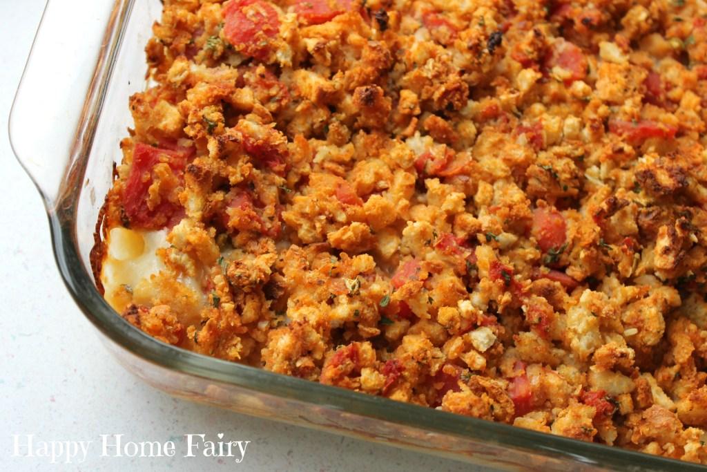 chicken bruschetta bake - the best meal to take to someone!