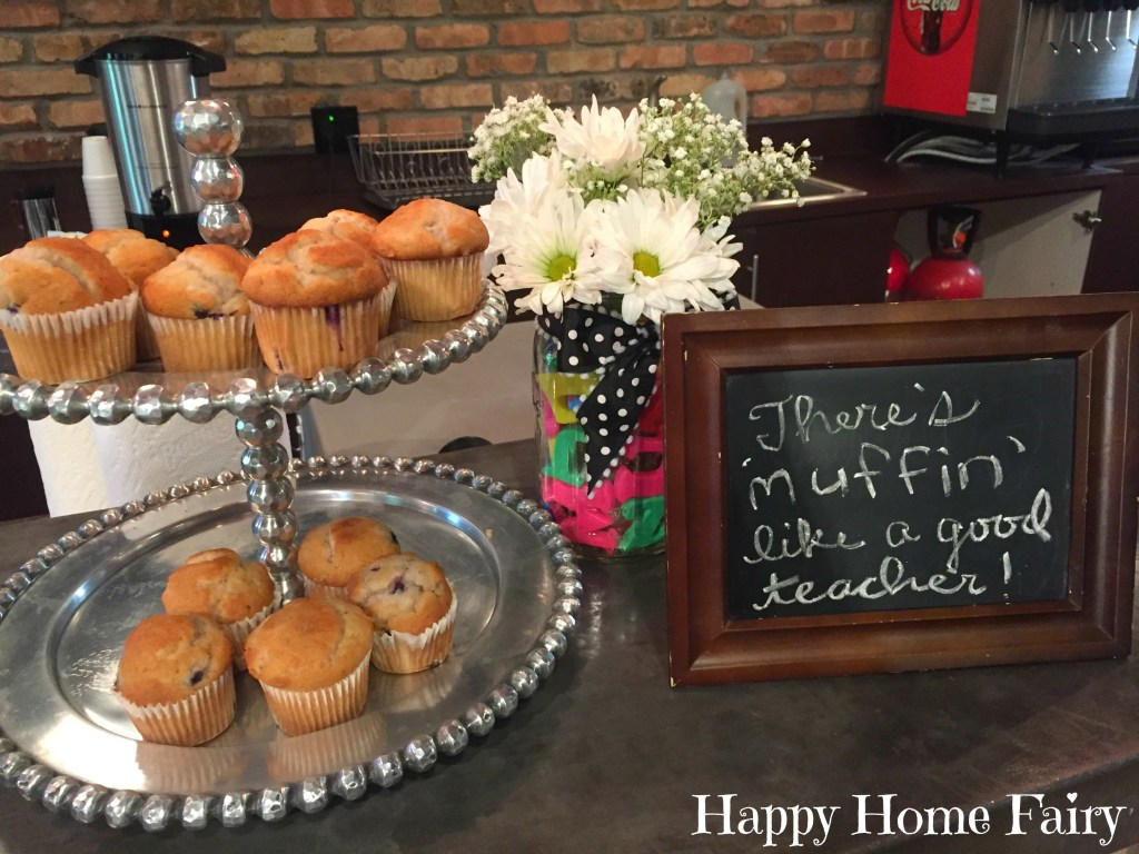 4 days of teacher appreciation breakfast ideas
