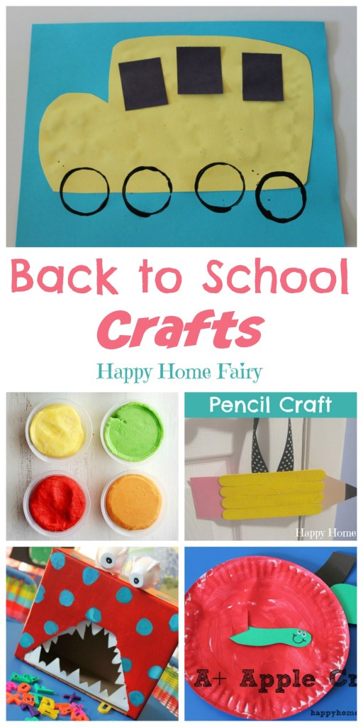 Back To School Crafts Happy Home Fairy