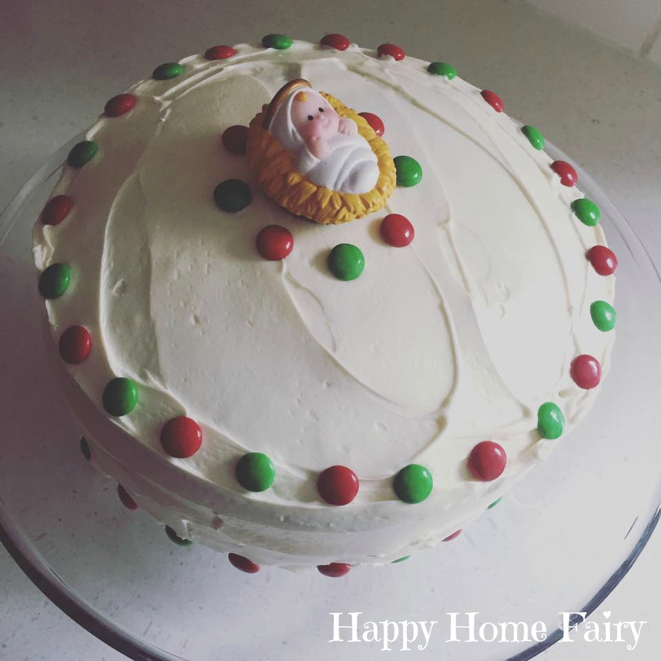 Stupendous Happy Birthday Jesus Cake Ideas Happy Home Fairy Funny Birthday Cards Online Overcheapnameinfo