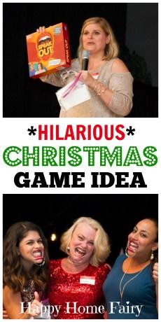 Hilarious Christmas Game Idea
