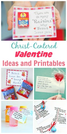 Christ-Centered Valentine Ideas and Printables