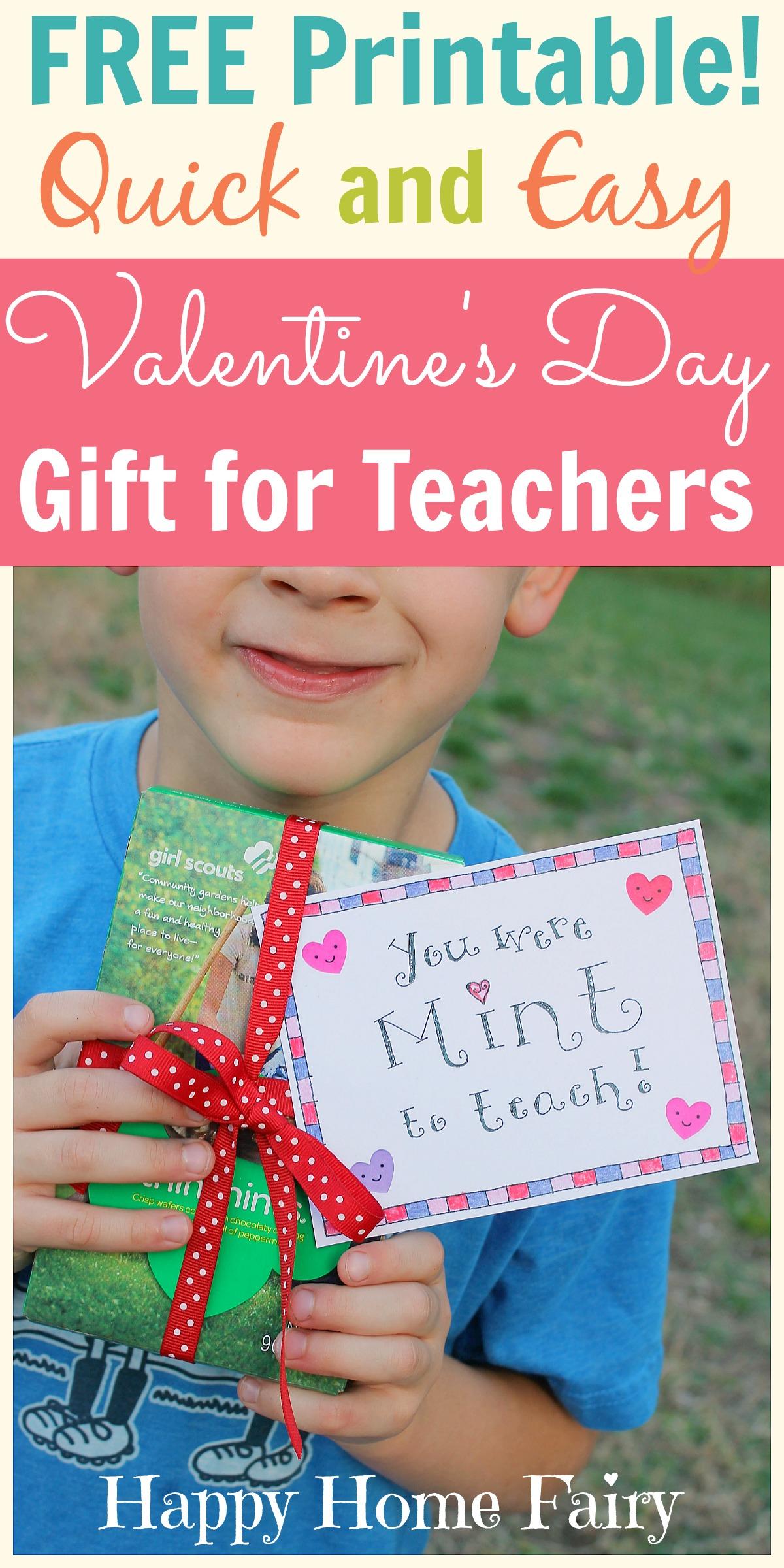 Easy Valentine S Day T For Teachers