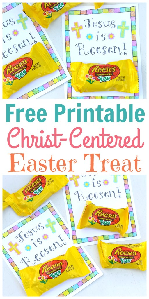 Christ centered easter treat tag free printable happy home fairy this free printable is the result of lying in bed for hours dreaming about ways to make clever easter puns negle Image collections