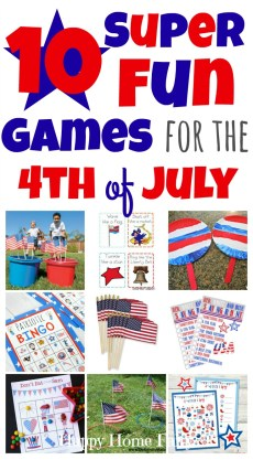 10 Fun Games for the 4th of July