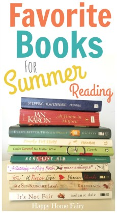 My Favorite Books for Summer Reading
