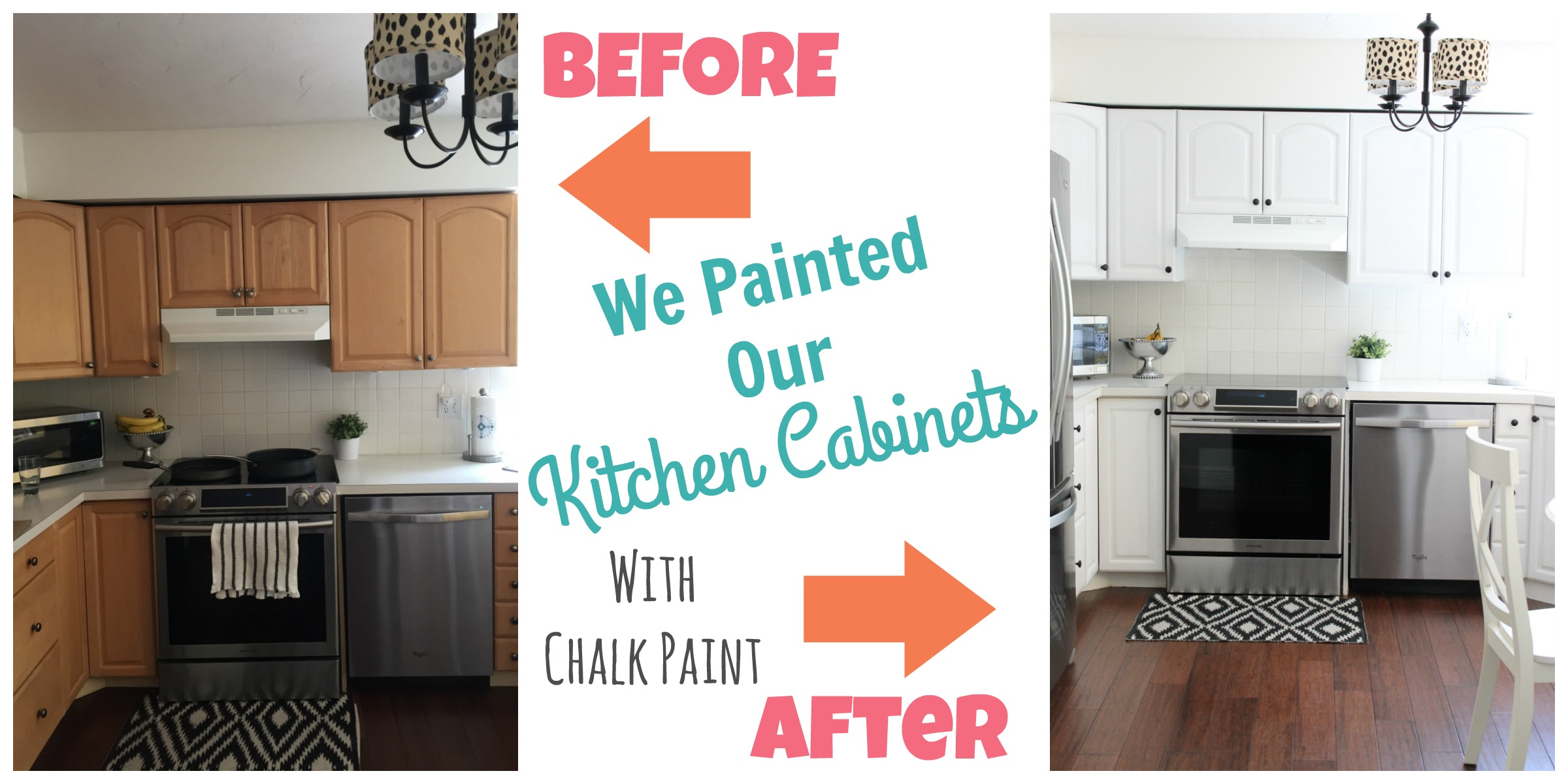 How to paint kitchen cabinets happy home fairy for Can i paint kitchen cabinets with chalk paint