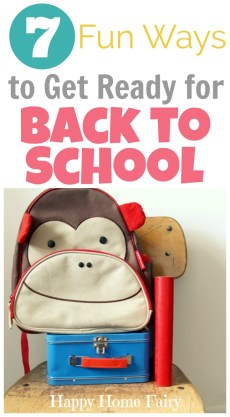 7 Fun Ways to Get Ready for Back to School