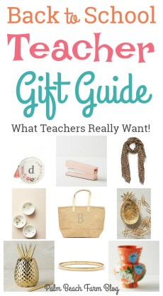 Back to School Teacher Gift Ideas – Guest Post