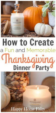 5 Ways to Create a Fun and Memorable Thanksgiving Dinner