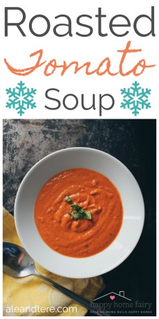 Recipe – Roasted Tomato Soup