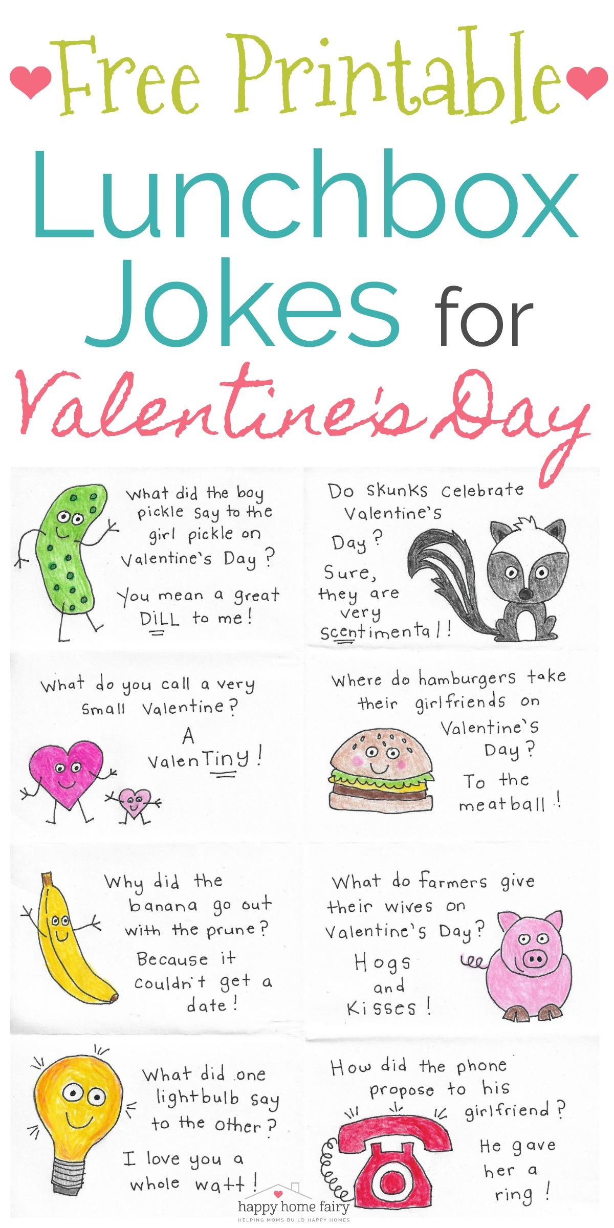 Fairy Jokes : fairy, jokes, Lunchbox, Jokes, Valentine's, Printable!, Happy, Fairy