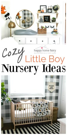 NURSERY REVEAL – Cozy Little Boy Nursery Ideas