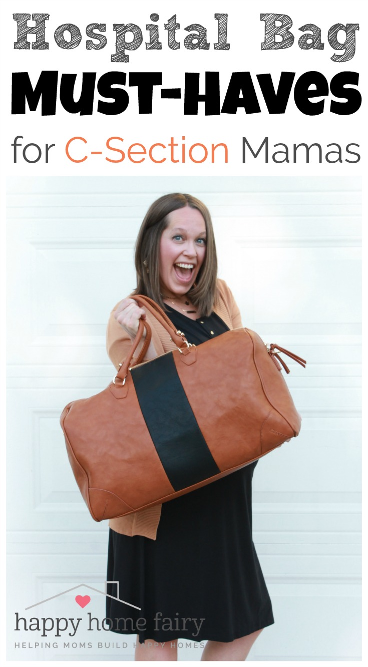 Hospital Bag Must-Haves for C-Section Mamas