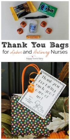 Thank You Gift for Labor and Delivery Nurses – FREE Printable!